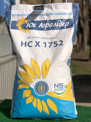 насіння соняшника нс х 1752, соняшник нс х 1752